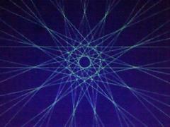 蛍光糸張り十五角の蛍織珠プロセス