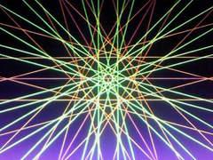 蛍光糸張り極光六翼紋プロセス