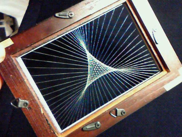 コンパクト蛍光糸張りクリスタルレジン蛍小三角星