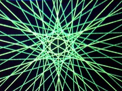 蛍光糸張り六光翠星プロセス