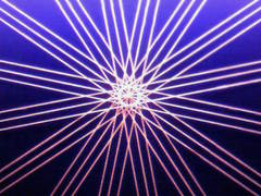 蛍光糸張り極光十六片紋プロセス