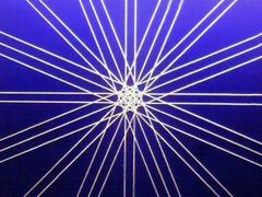 蛍光糸張り極光八翼紋プロセス