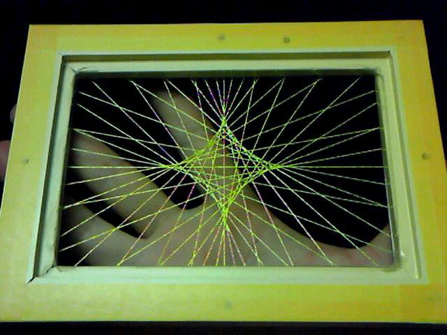 蛍光糸張り翠のアステロイド