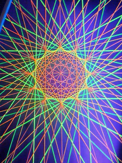 十二角形の極光観覧車