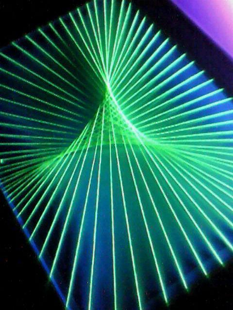 蛍光糸張り蛍三角星