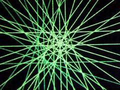 蛍光糸張り蛍光の五つ葉プロセス